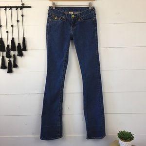 True Religion Becky bootcut jean size 27
